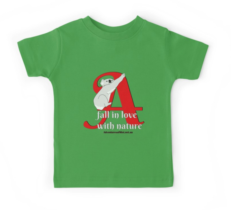 Kids T Shirt to fall in love with nature